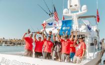 第三届年度水上运动钓鱼大赛的战争英雄对资深社区表示赞赏