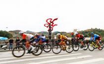 第十届贵州省江市范锦路自行车赛举行