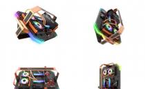 darkFlash推出独特的开放式机箱Blade-X